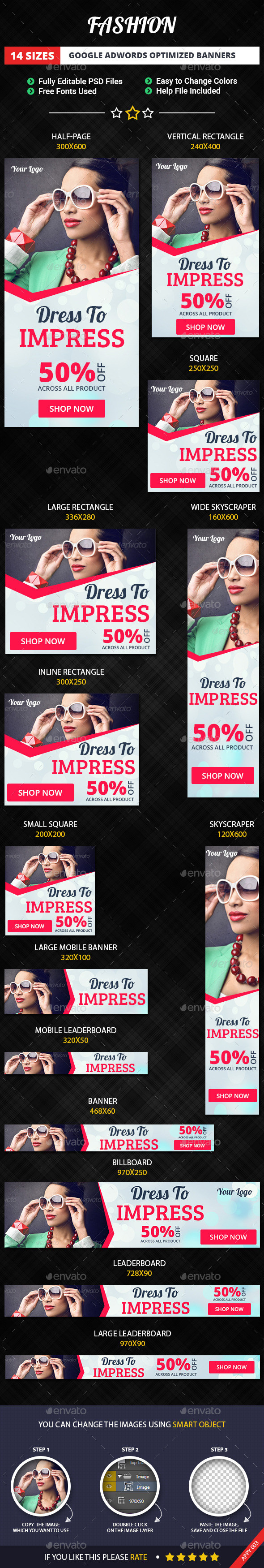 GraphicRiver Fashion Banners 11449996