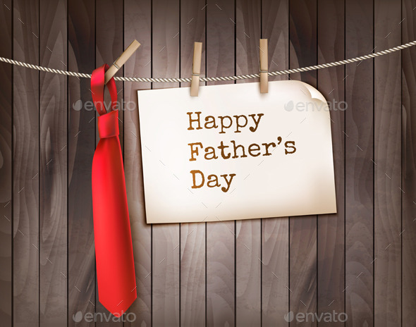 GraphicRiver Happy Fathers Day Background 11450719