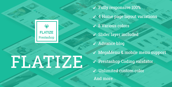 JMS Flatize - Fashion Responsive Prestashop Theme