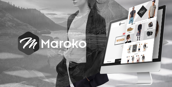 Maroko - ECommerce PSD Template