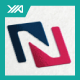 Nation Net - New Marketing - N Logo - GraphicRiver Item for Sale