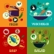 Cooking Concept With Vegetables And Ingredients - GraphicRiver Item for Sale