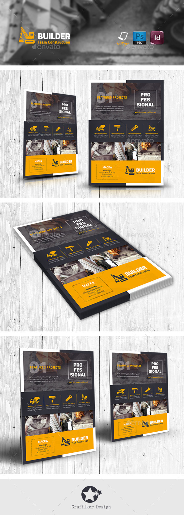 GraphicRiver Construction Flyer Templates 11451318
