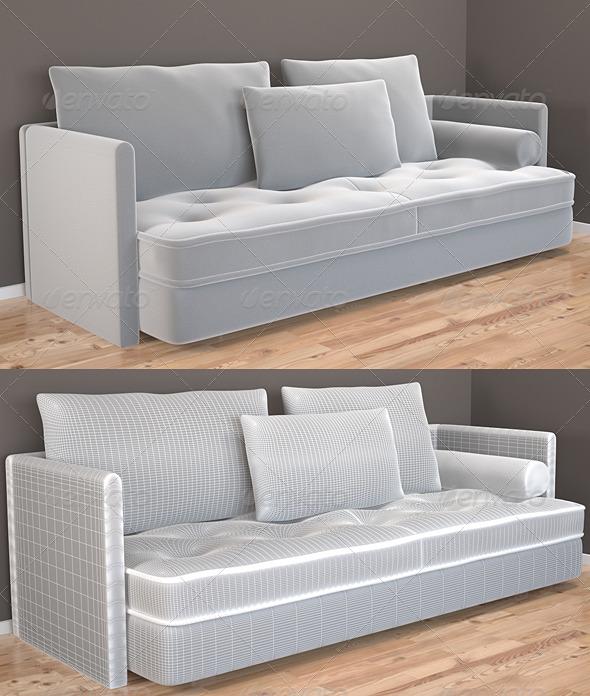 3d models nomade 3 seat sofa by ligne roset france 3docean - Nomad sofa ligne roset ...