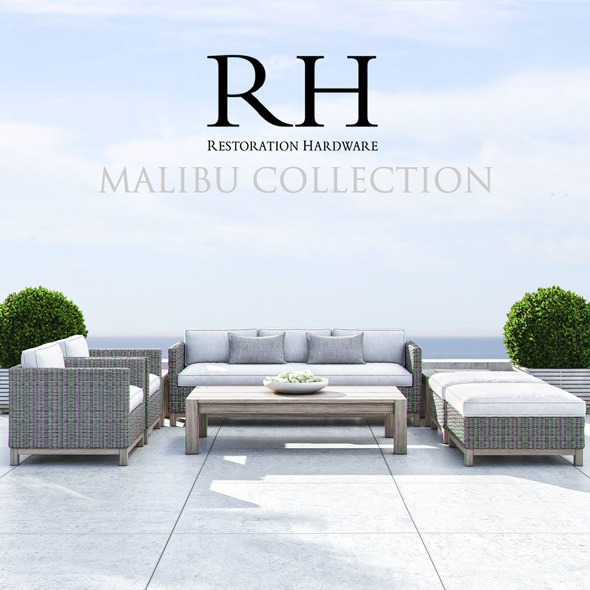 3DOcean Restoration Hardware Malibu Collection 11451420