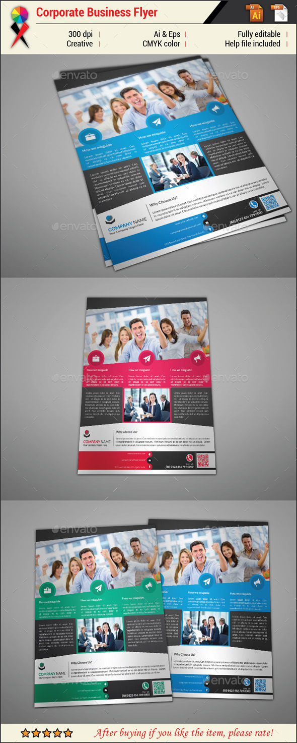 GraphicRiver Professional Creative Corporate Business Flyer 11451433