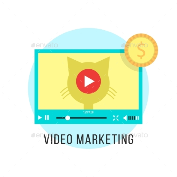 GraphicRiver Video Marketing And Income From Popular Content 11451531