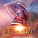 Summer End Flyer Template - GraphicRiver Item for Sale
