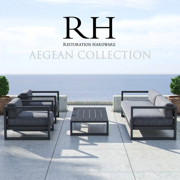 3DOcean Restoration Hardware Aegean Collection 11451716