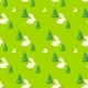 Green Tree White Rabbit Pattern Vector - GraphicRiver Item for Sale