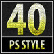 40 Package Photoshop Styles - GraphicRiver Item for Sale