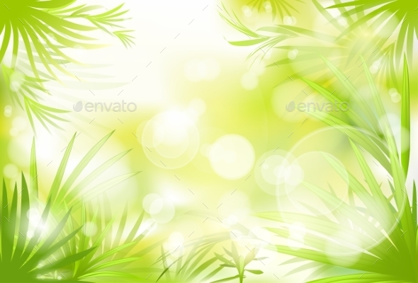 GraphicRiver Grass Abstract Blur Spring Background 11452098