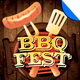 BBQ Festival Flyer Template Vol. 1 - GraphicRiver Item for Sale