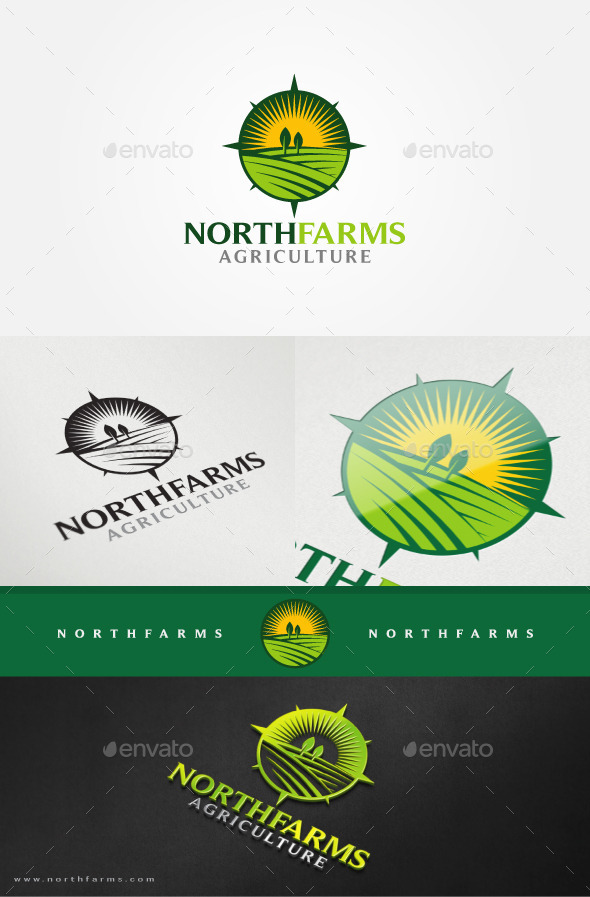 GraphicRiver Farm Fields Logo Template 11407917