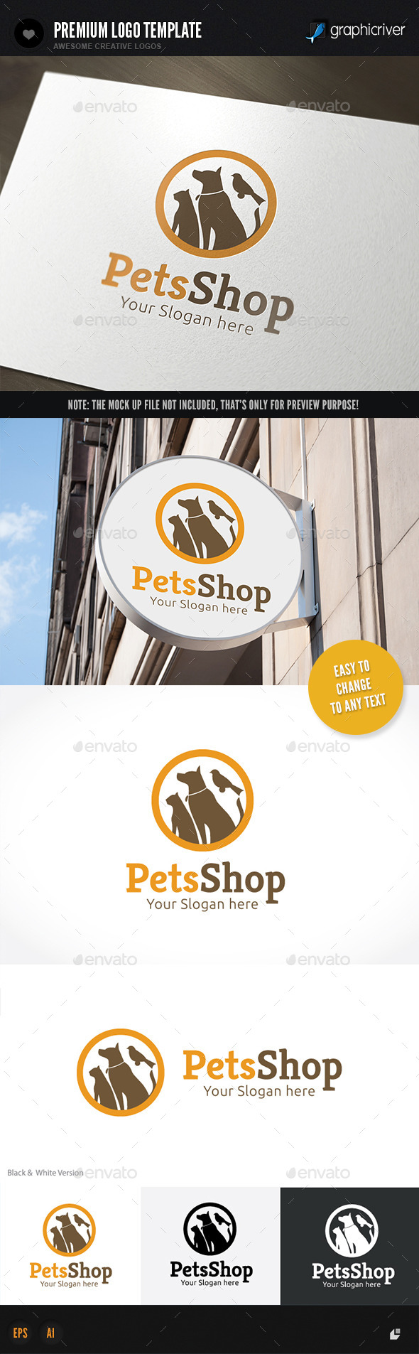 GraphicRiver Pet Shop 11446376