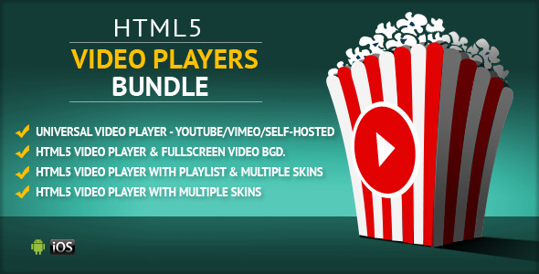 CodeCanyon HTML5 Video Players Uber Bundle 11452253