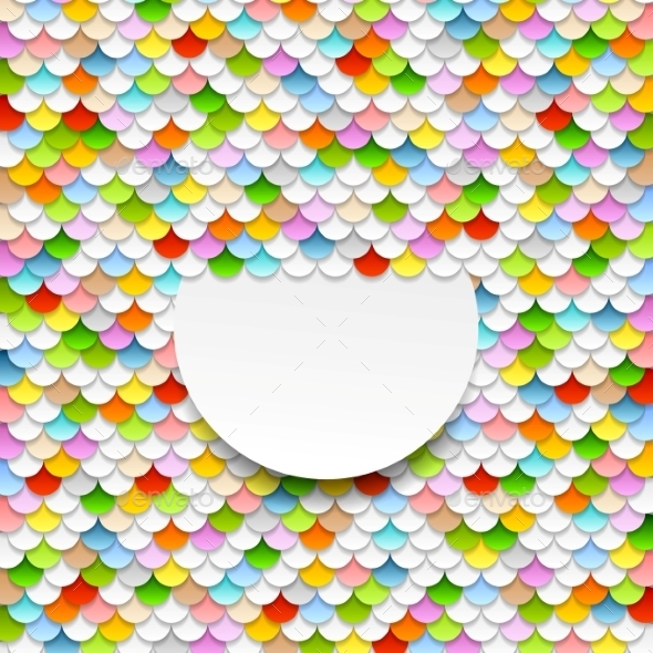 GraphicRiver Colorful Abstract Art Background Paper Circles 11452270