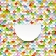 Colorful Abstract Art Background. Paper Circles - GraphicRiver Item for Sale