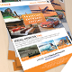 A4 Travel Flyer Template - GraphicRiver Item for Sale