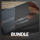 3 in 1 Sleek Business Card Bundle - GraphicRiver Item for Sale