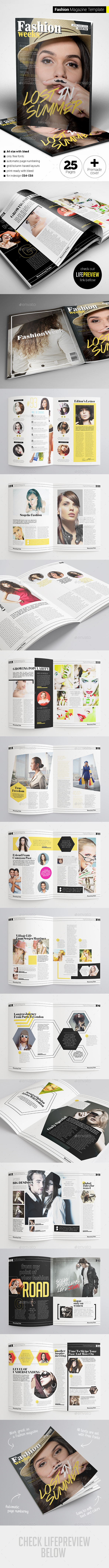 GraphicRiver Fashion Magazine 11452396