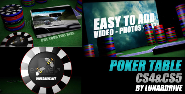 Poker Table Promo