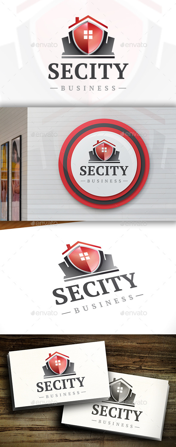 GraphicRiver Secure City Logo 11452590