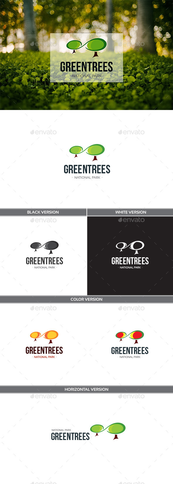 GraphicRiver Greentrees 11452659