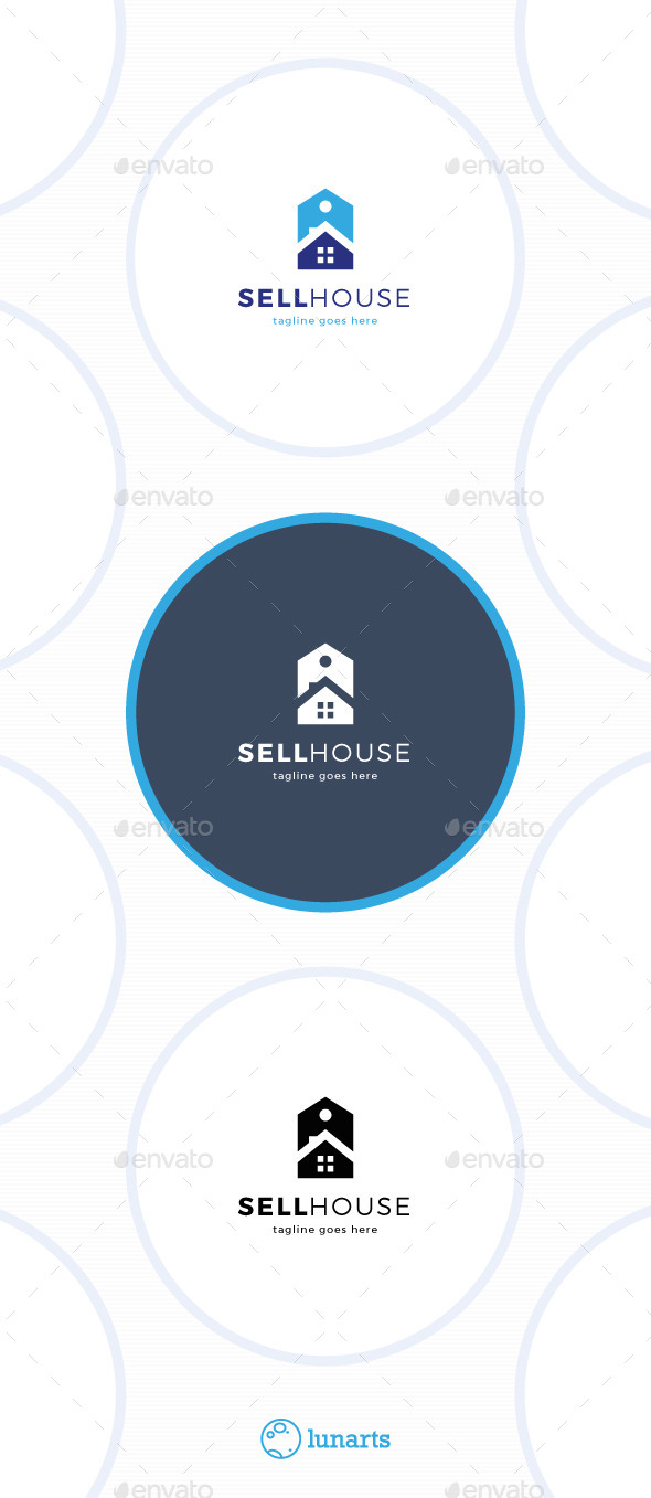 GraphicRiver Sell House Logo 11453038