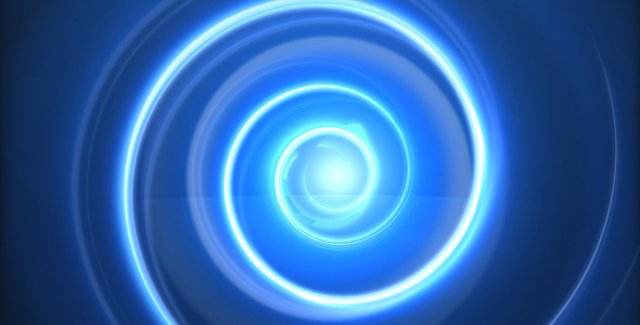 Glow Spiral Logo