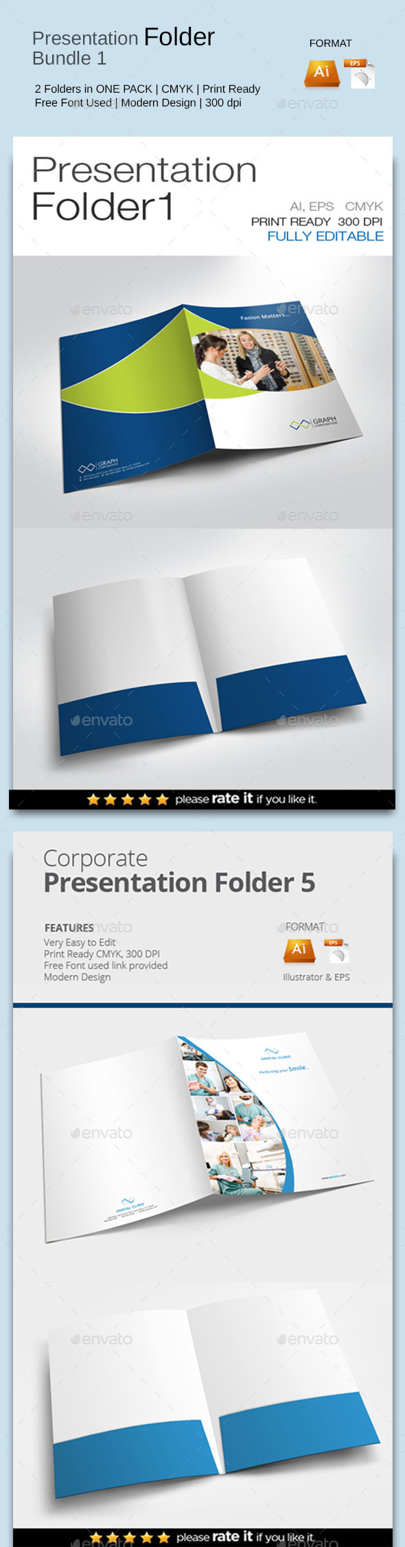 GraphicRiver Presentation Folder Bundle 1 11453099