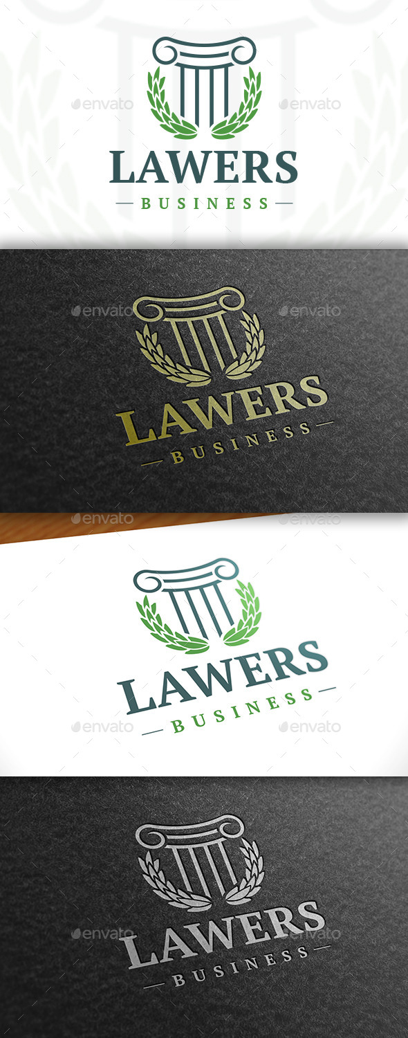 GraphicRiver Law Firm Classic Logo 11453118