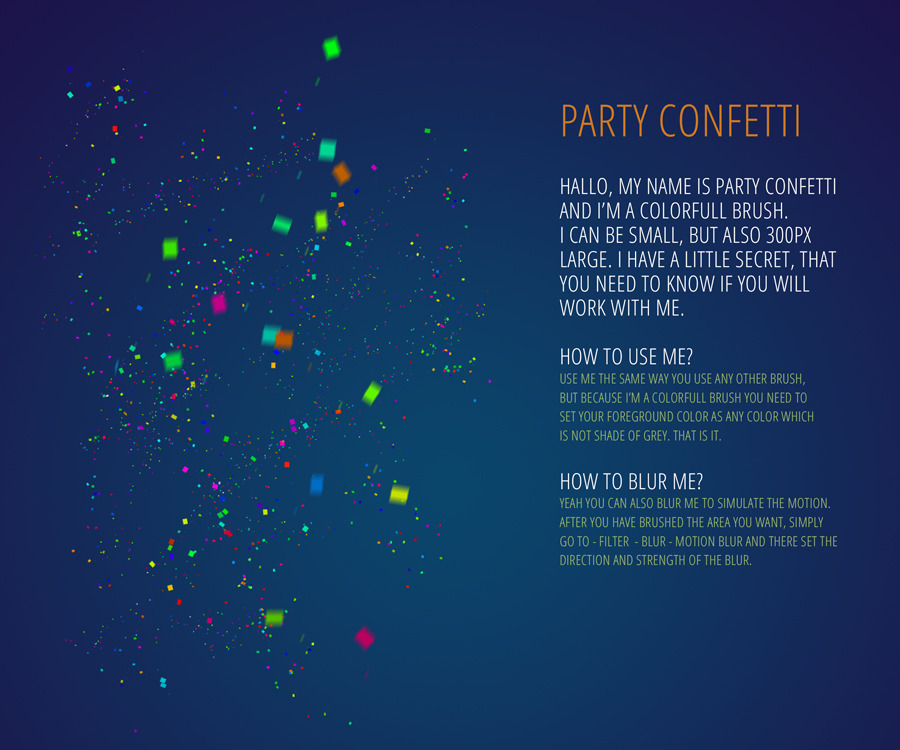 Party Tools Kit - 300 DPI Actions, PSD, Brush by survivor ...