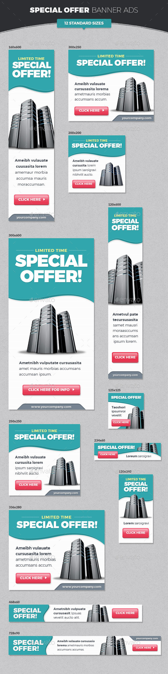 GraphicRiver Special Offer Banner Ads 11453134