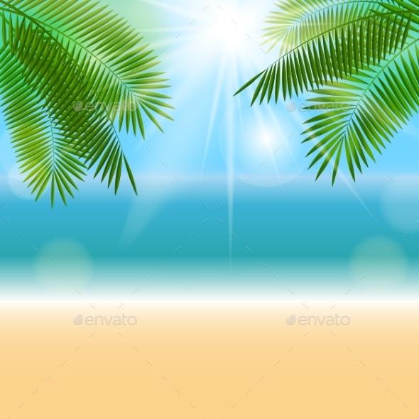 GraphicRiver Summer Natural Background Vector Illustration 11453165