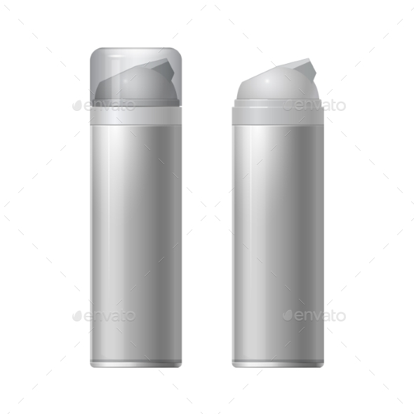 GraphicRiver Shaving Gel Foam Light Gray 11453174