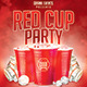 Red Cup Party | Summer Night PSD Flyer Template - GraphicRiver Item for Sale