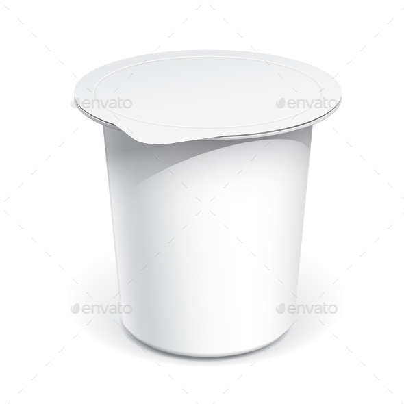 GraphicRiver White Blank Plastic Container 11453188