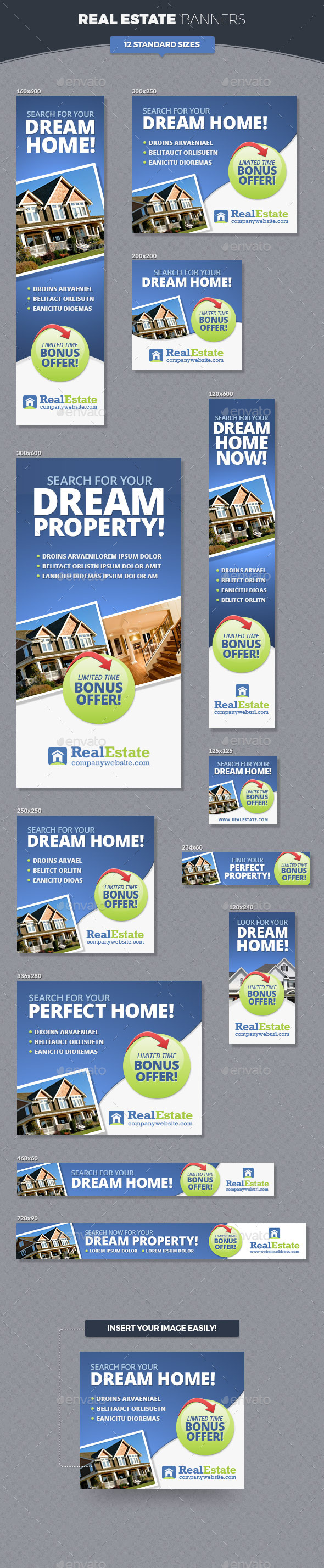 GraphicRiver Real Estate Banner Ads 11453206