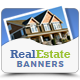 Real Estate Banner Ads - GraphicRiver Item for Sale