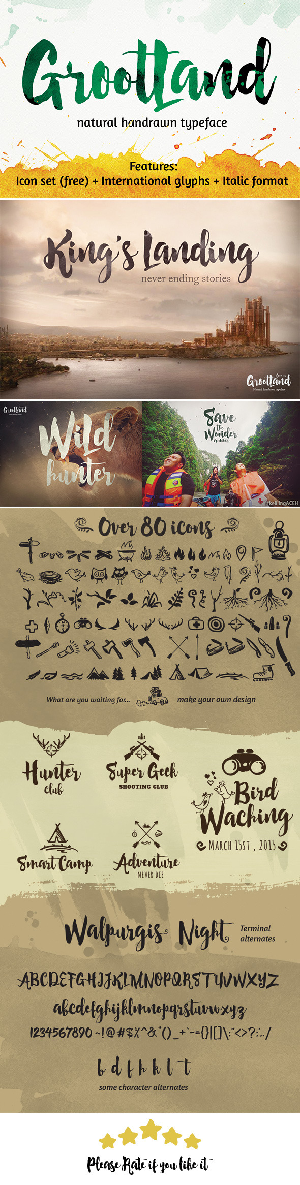 GraphicRiver Grootland Font 11408641