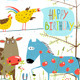 Colorful Cartoon Farm Animals Birthday Greeting  - GraphicRiver Item for Sale