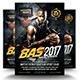 Hardcore Basket Ball PSD Flyer - GraphicRiver Item for Sale