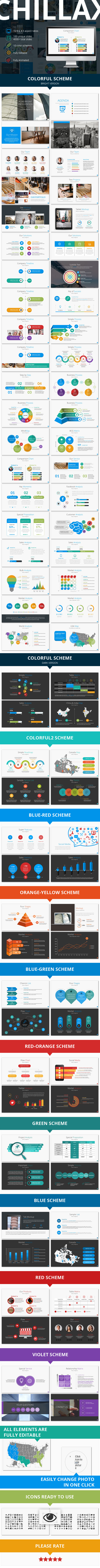 GraphicRiver Chillax Multipurpose Presentation Template 11453322