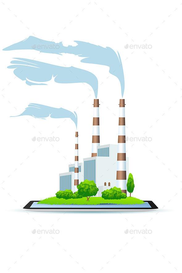 GraphicRiver Power Plant 11453392