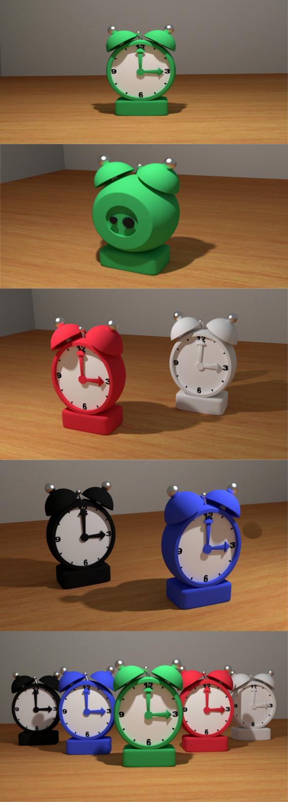 3DOcean Alarm Clock 11453654