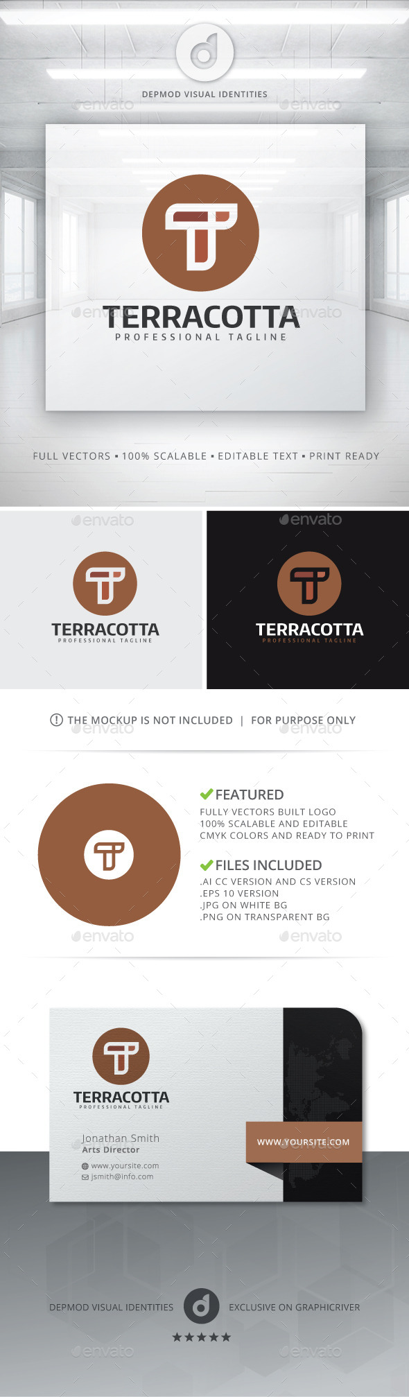 GraphicRiver Terracotta Logo 11453679