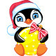 Penguin and Christmas Ball - GraphicRiver Item for Sale