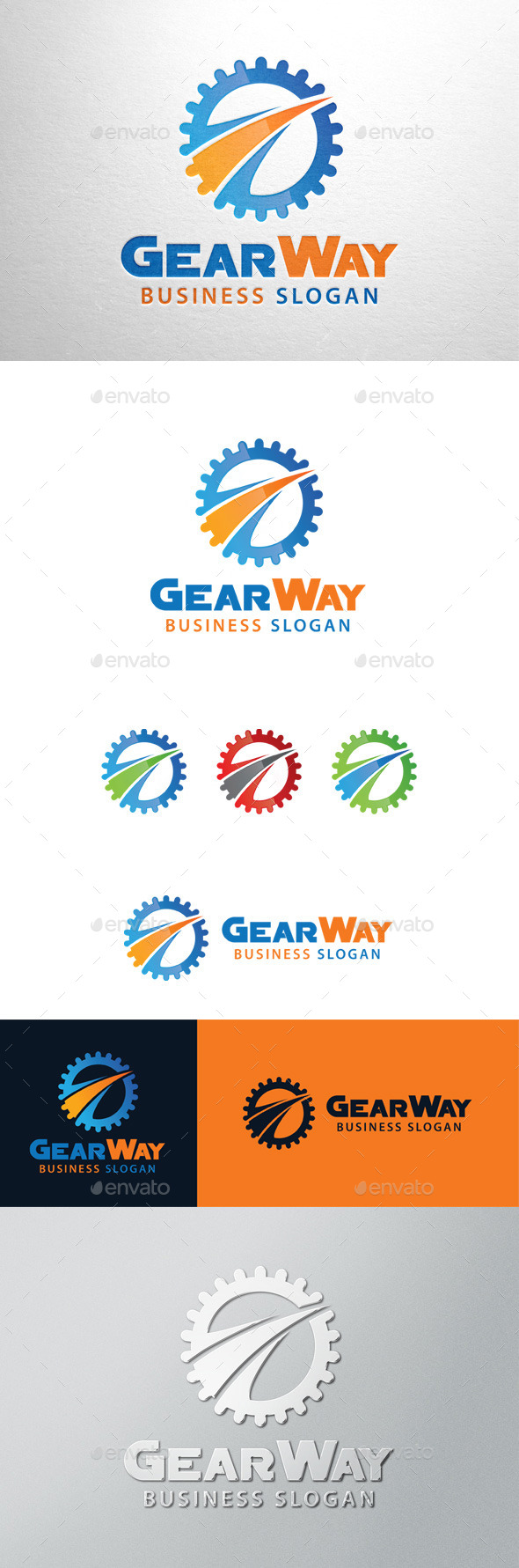 GraphicRiver Gear Way Logo 11453820