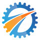 Gear Way Logo - GraphicRiver Item for Sale